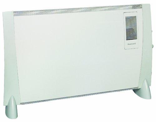 Honeywell HZ-823FE Turbo Fan Convector Heater, 2kW (White/Grey)