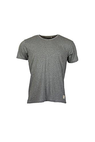 nudie-jeans-o-neck-para-hombre-gris-melange-t-shirt-gris-gris-small