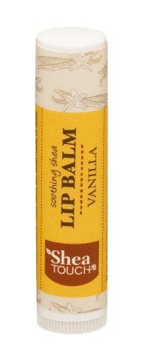 Shea Touch - Lip Treatment Balm - Vanilla - Single Tube of 0.15 Oz