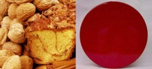"Original Cinnamon Walnut 8"" Coffee Cake (Red Gift Tin)"