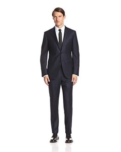 Ermenegildo Zegna Men's Stripe Notch Lapel Suit