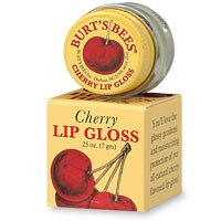 Burt's Bees Fruit Flavored Lip Gloss, Cherry, 0.25 Ounces