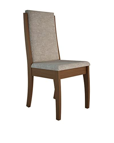 Manhattan Comfort Florence Dining Chair, Brown