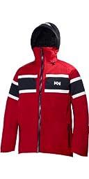 Helly Hansen Men\'s Salt Jacket, Red, Large