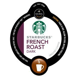 STARBUCKS FRENCH ROAST COFFEE 96 VUE PACKS