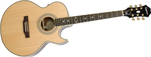 Epiphone PR-5E Acoustic-Electric Guitar, Shadow Preamp, Natural