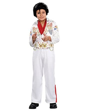 Child Kid's Boy's Elvis Deluxe Costume, Multicolored