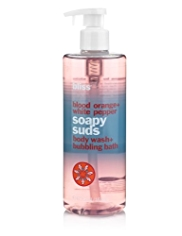 bliss® Blood Orange+White Pepper Soapy Suds Body Wash & Bubbling Bath 470ml