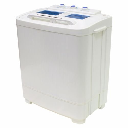 Xtreme Power White Semi-Automatic Twin Tub Washing Machine with Spinner
