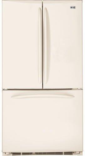 GE Bisque Bottom Freezer Freestanding Refrigerator PFSF5NFZCC