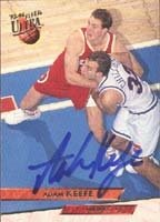 Adam Keefe Atlanta Hawks 1994 Fleer Ultra Autographed Hand Signed Trading Card. by Hall+of+Fame+Memorabilia