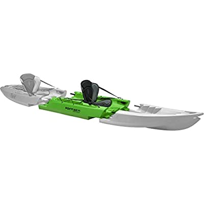 015301250108 Point 65 Tequila! GTX Modular Kayak Mid Section - Lime by Point 65