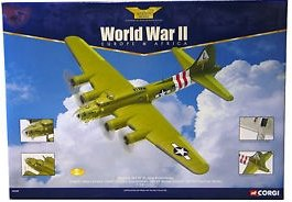 World War II Europe & Africa Boeing B-17F Flying Fortress Sweet and Lovely USAF 533rd Squadron 381st Bomb Group 65th Fighter Wing 1:72 Limited Edition Detailed Die Cast Model for the Adult Collector