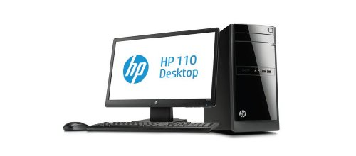 HP 110-050EAM Desktop PC with 20-inch W2072a LED Monitor (Intel Core i3-3240T 2.9GHz Processor, 8GB RAM, 1TB HDD, Intel HD Graphics, DVD SATA Writer, Windows 8)