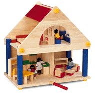 Plan Toys Dollhouse - Playhouse - Buy Plan Toys Dollhouse - Playhouse - Purchase Plan Toys Dollhouse - Playhouse (Plan Toys, Toys & Games,Categories)