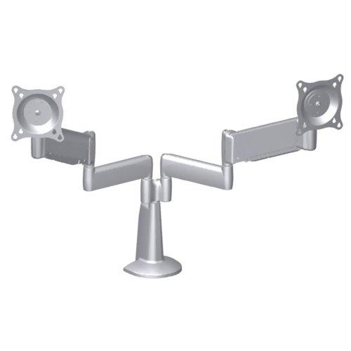 Kcy220S Dual Monitor Height Adjustable Desk Mount