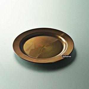 12-assiettes-mariage-jetables-plastique-couleur-marron-nacr-24-cm-Adiserve