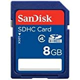 SanDisk 8GB SDHC Memory Card (RETAIL PACKAGE)