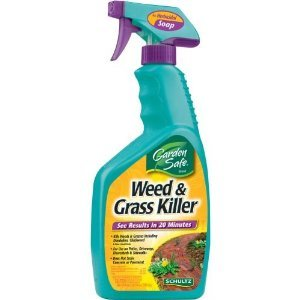 Garden Safe Weed Grass Killer Soap Natural 24 Oz Patio Lawn Garden