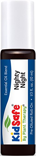 KidSafe Nighty Night Synergy Pre-Diluted Essential Oil Roll-On 10 ml (1/3 fl oz). Ready to use!