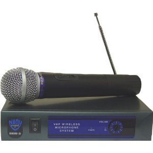 Nady Dkw-3 Ht/D Vhf Single Receiver Handheld Microphone System