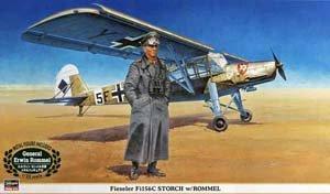 フィーゼラー Fi156C シュトルヒ w/ ロンメル