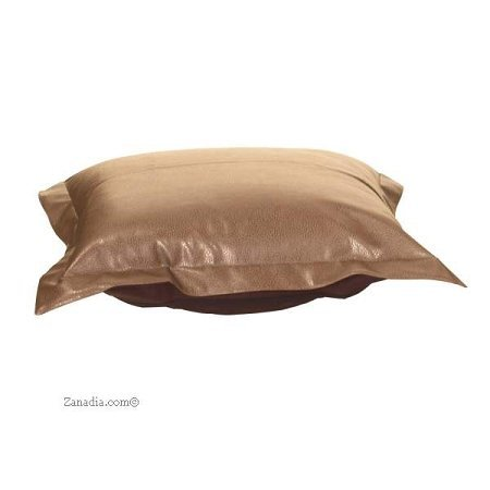 Ctc Puff Ottoman Replacement Cover With Cushion-Avanti Bronze front-858070