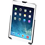 Ram Mount EZ-ROLL'R Model Specific Cradle without Case, Skin Or Sleeve for Apple iPad Air (RAMHOLAP17U)