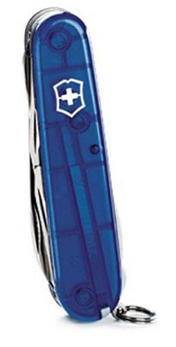 Victorinox Swiss Army Climber Pocket Knife (Sapphire) front-570437