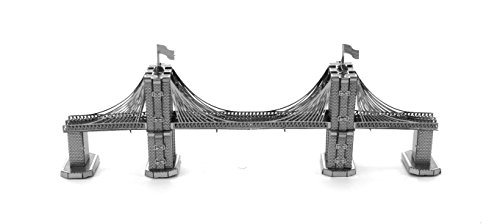 Fascinations Metal Earth Brooklyn Bridge 3D Metal Model Kit (New York Model compare prices)