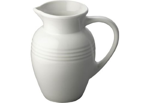 Le Creuset Stoneware 2-Quart Pitcher, White