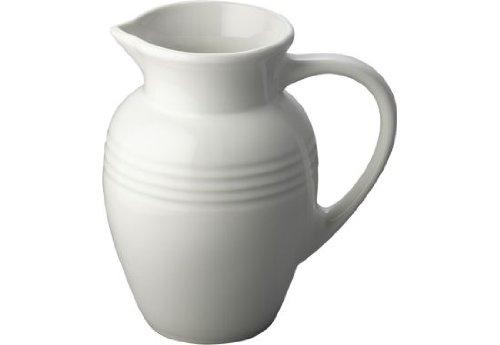 Le Creuset Stoneware 2-Quart Pitcher, White