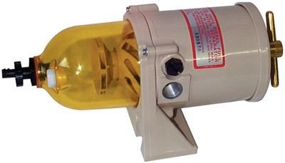 Racor Division 500FG2 60 GPH CLEAR BOWL TURBINE W/ TURBINE SERIES DIESEL FUEL FILTRATION