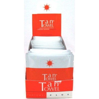 Tan Towel Full Body Plus (Pack of 50) Display (Medium To Dark)