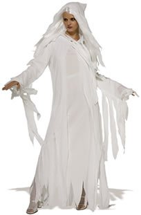 Rubie'S Masquerade Ghostly Spirit Fancy Dress Costume (Adult Size 16-18)