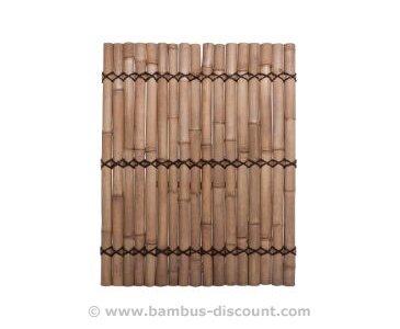 sichtschutz bambus zaun apas gelblich starre verschnurrrung druch 6 bis 8cm 180 x 90cm. Black Bedroom Furniture Sets. Home Design Ideas