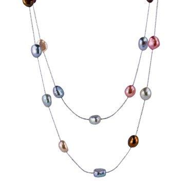 Sparkle Baroque Pearl Necklace
