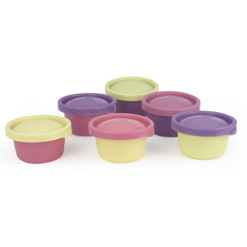The First Years 6 Pack Ziploc Toddler Bowl, 8 Ounce (Discontinued by Manufacturer)