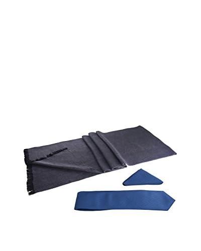 GIORGIO DI MARE Corbata Azul / Antracita