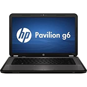 Hewlett Packard 15.6 G6-1D62NR Notebook PC - AMD Dual-Core A4-3305M Accelerated Processor