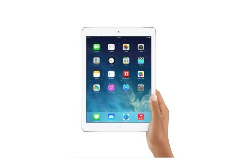 Apple iPad Air 64GB (Wifi And Cellular) in Silver/White MEF012LL/A
