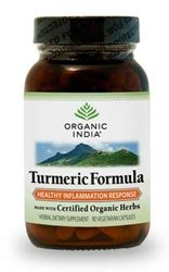 Mercola Organic India Turmeric Formula 2 Bottles