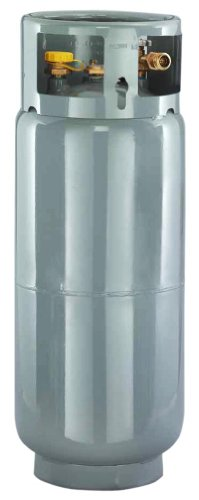 Worthington 282098 43-Pound Steel Forklift Cylinder With Gauge And Fill Valve