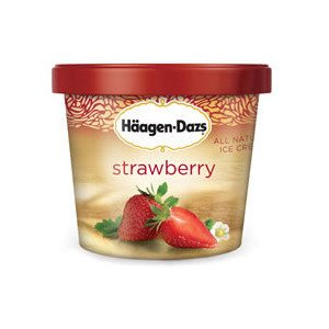 Haagen dazs single serve ice cream