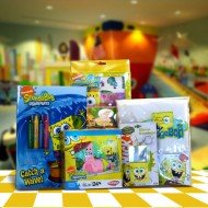 Spongebob Kids Gift Baskets Great Graduation, Birthday,Get well Gifts for Children