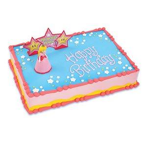 Mario Cake Decorating Kit : Amazon.com: Mario Bros Princess Peach Cake Decorating Kit ...
