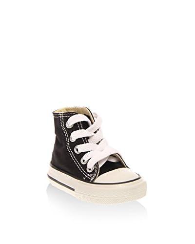 Converse Zapatillas abotinadas Chuck Taylor All Star Negro / Blanco