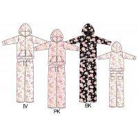 SASAC floral Kitty pt Parker suit SAN-538 M IV women