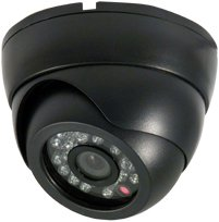 Weatherproof/Vandleproof Indoor/Outdoor Sony Super HAD CCD Infrared Day/Night, 480 TV Line, Built-in 3.6mm Lens, 24 Infrared LEDS