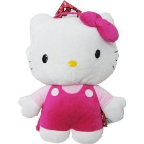 Hello Kitty Plush Doll Backpack